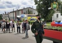 В Калужской области захоронили найденные под Тулой останки бойца