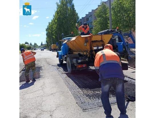 В Йошкар-Оле ремонтируются три улицы