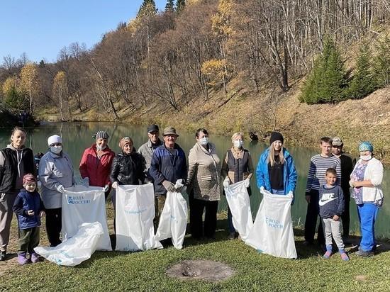 Экологическая акция «Вода России» прошла на озере в Башкирии