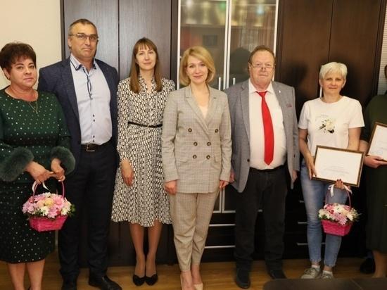 Глава гороского округа Серпухов Юлия Купецкая вручила благодарственные письма
