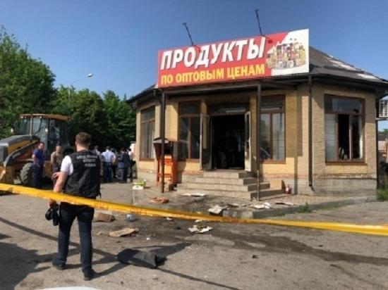 В Ингушетии ищут виновного в пожаре магазина и смерти продавщицы