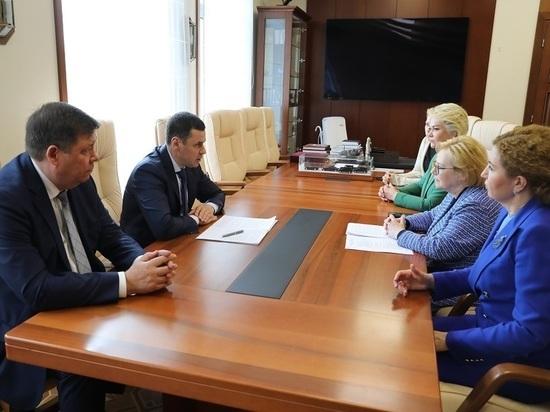 Губернатор Дмитрий Миронов обсудил с Вероникой Скворцовой организацию работы ФМБА в регионе
