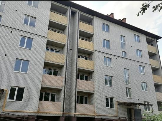 В столице Калмыкии ведется строительная работа двух домов