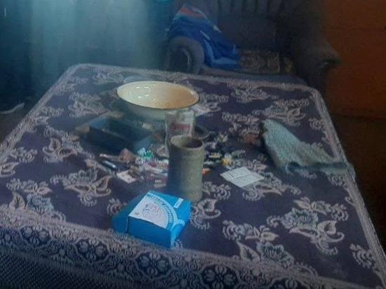 В отдаленном районе Тувы полицейские выявили наркопритон