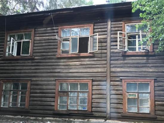 В Кирове без крова остались 20 человек из сгоревшего аварийного дома