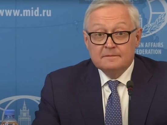 """Рябков заявил,  что США выпадают из контекста по """"Северному потоку-2"""""""