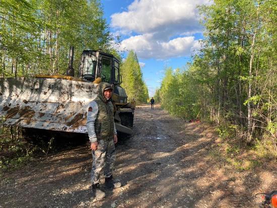 Тушение лесного пожара у посёлка Хандыга в Якутии близко к локализации