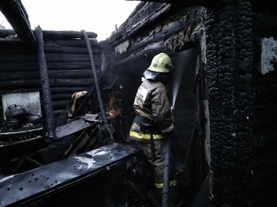 В Башкирии пожар в многодетной семье унес жизни отца и ребенка