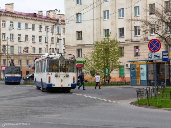 Троллейбус № 1 в Петрозаводске изменит маршрут на три дня