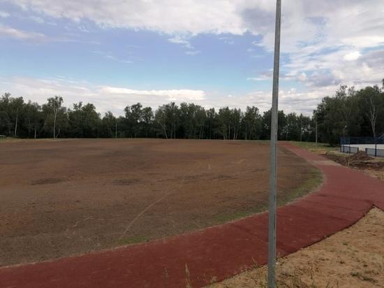 В Козьмодемьянске завершается реконструкция стадиона «Юбилейный»