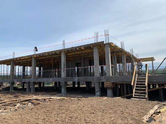 В Якутии в рамках нацпроекта «Демография» строится новый детский сад