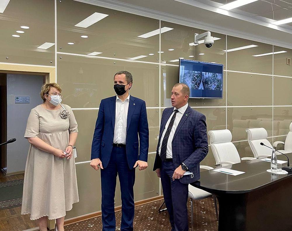 Вячеслав Гладков встретился со студентами белгородского аграрного вуза