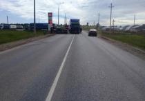 На трассе в Кировской области «семерка» въехала в «Вольво» с прицепом