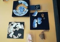 Клад из монет маленького номинала обнаружили столичные археологи