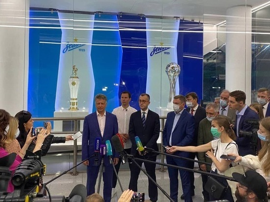 В Петербурге к Евро-2020 открыли станцию метро «Зенит»