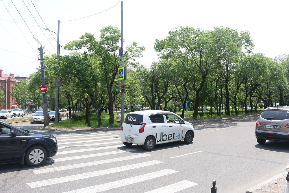 Площадь имени Серышева как осколок ушедшей эпохи посреди Хабаровска