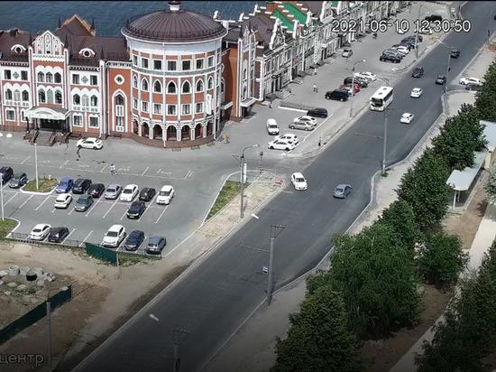 На улице Эшкинина Йошкар-Олы снова ограничивается движение