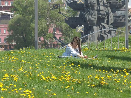 На Москву идет жара свыше 30 градусов