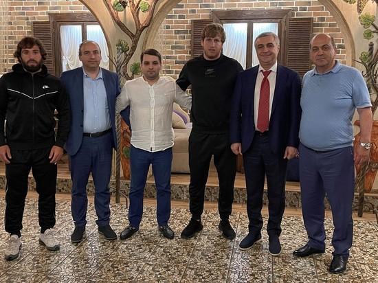 Олимпийский чемпион побывал в гостях у армянской диаспоры Кубани
