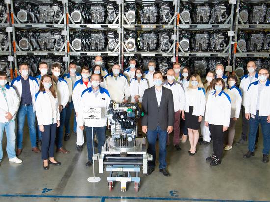 Калужский завод Volkswagen выпустил 700-тысячный двигатель