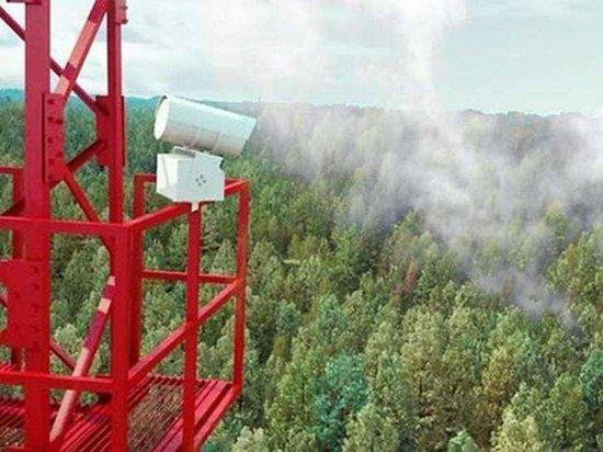 Возгорания в заполярных лесах будет отслеживать специальная аппаратура