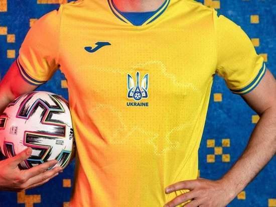 Украина ведет переговоры с УЕФА о сохранении дизайна формы