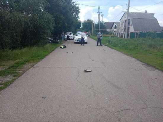 В Донецке школьник на мотоцикле сбил 4-летнюю малышку