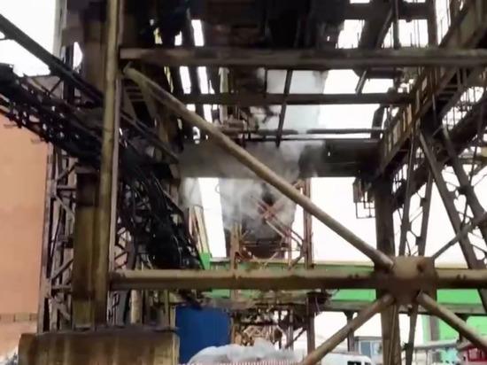 Рабочий погиб при обрушении галереи на Надеждинском металлургическом заводе около Норильска
