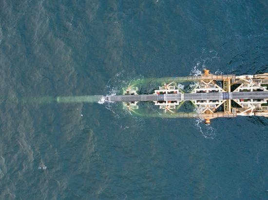 """Завершено строительство морской части первой нитки """"Северного потока 2"""""""
