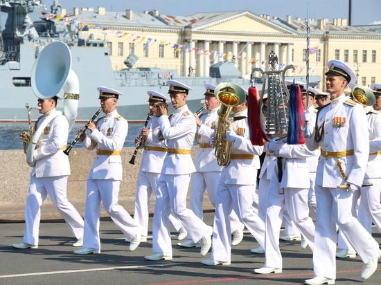 Празднование дня ВМФ обойдется Петербургу в 27 млн рублей