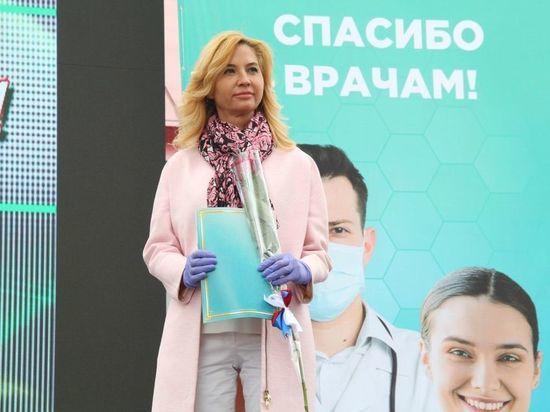 Солдатова попросила дать ей поучаствовать в суде по иску против омского Минздрава