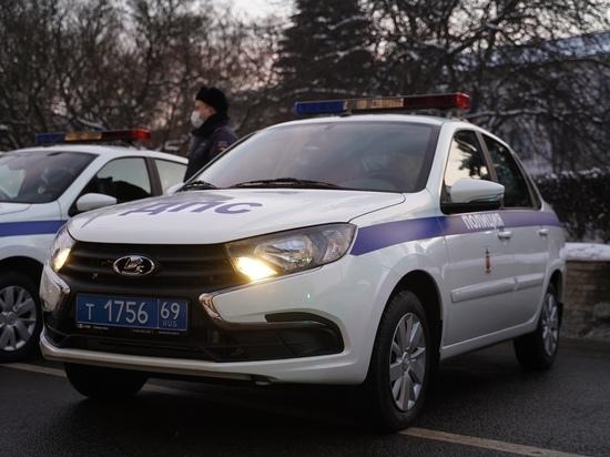 Водитель поранила лоб после ДТП в Тверской области