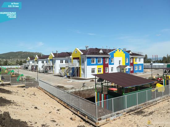 В Улан-Удэ завершили строительство детского сада
