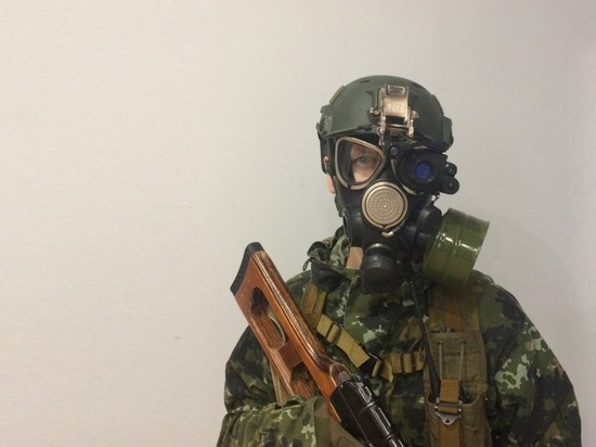 Мотострелки Бурятии отработали защиту от оружия массового поражения