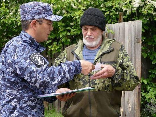 В Туве проверяют владельцев оружия в подтопленных населенных пунктах