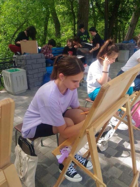 Дети нарисуют курортный Железноводск для Путина