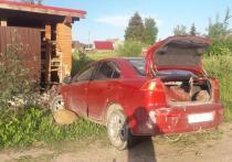Водитель не справился с управлением и съехал в кювет в Псковском районе