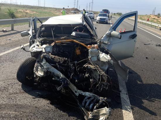 В ДТП с «Газелью» в Астраханской области пострадали несколько человек