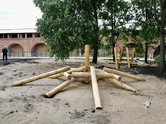 В Нижегородском кремле появится детская площадка