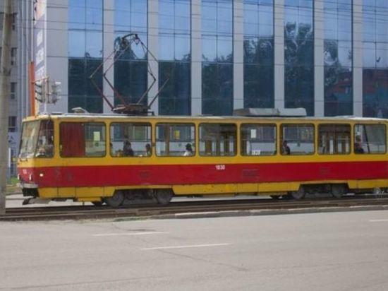 В Барнауле временно изменится маршрут трамвая №7