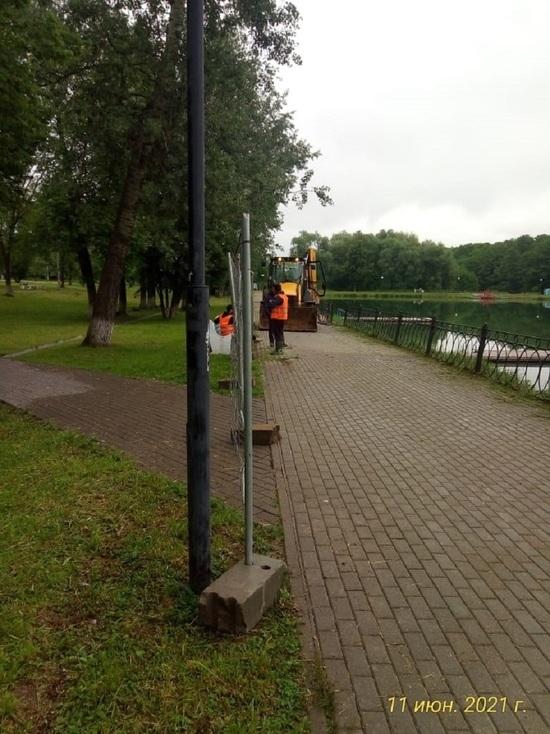 Начались работы по реконструкции одного из лучших парков Серпухова