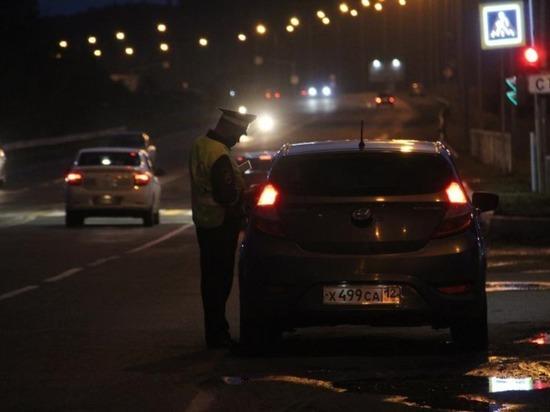 В праздничные дни в Марий Эл пройдет рейд по выявлению пьяных за рулем
