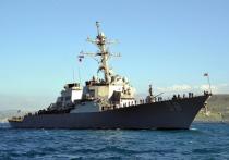 Американский ракетный эсминец «Лабун» класса «Арли Бёрк» с крылатыми ракетами «Томагавк» выдвинулся из Средиземноморья в сторону Черного моря