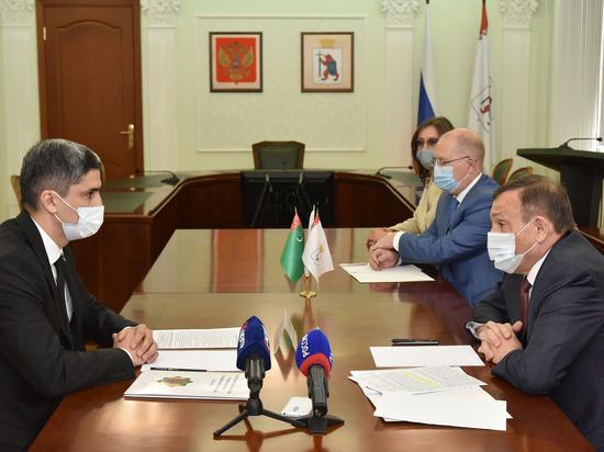 Глава Марий Эл пообщался с генеральным консулом Туркменистана