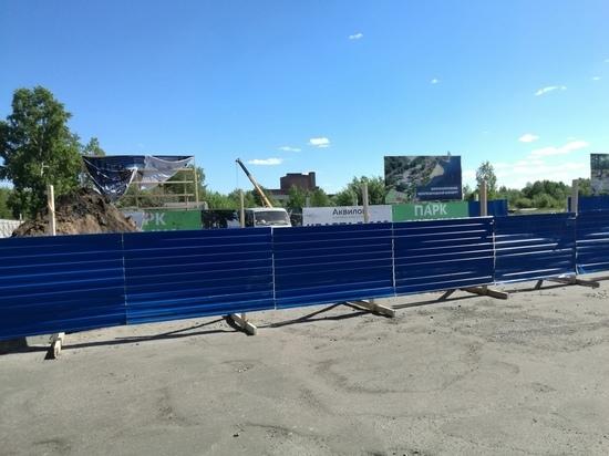 «Аквилон» начал стройку на месте зелёной зоны в Северодвинске