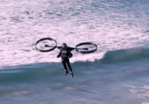 Первый двухвинтовой электрический пилотируемый CopterPack недавно был протестирован в Австралии