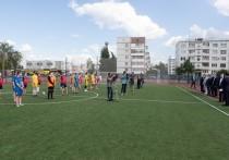 Новый стадион открыли сегодня возле школы №25 в Пскове