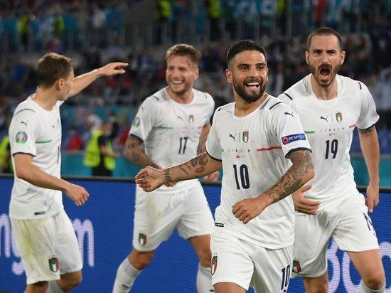 На стадионе в Риме сборная Роберто Манчини показала, почему ее считают одинм из претендентом на чемпионство