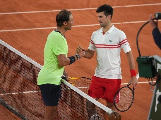 Рафа не смог выйти в свой 14-й парижский финал, а Новак сыграет с Циципасом за второй титул на Открытом чемпионате Франции