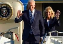 Британские СМИ пишут, что Джо Байден, похоже, нарушил протокол, когда его кортеж прибыл на прием после королевы Елизаветы II в преддверии первой встречи монарха с президентом и первой леди США на саммите «большой семерки» в Корнуолле